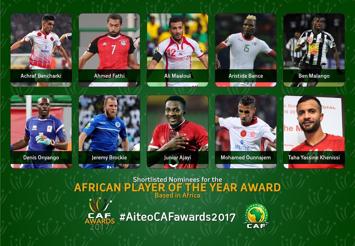 أفضل لاعب داخل أفريقيا