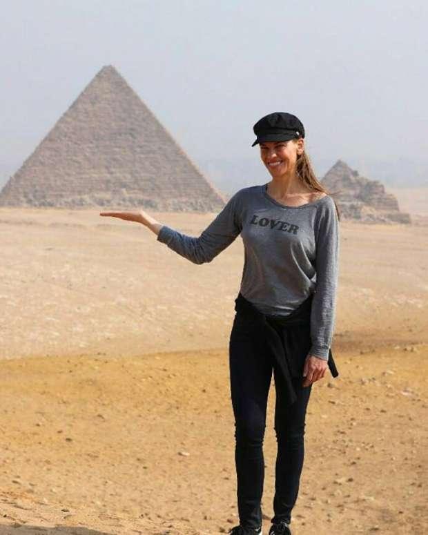 تعرف على اشهر نجوم العالم الداعمين للسياحة في مصر عام 2017