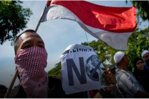 اندونسيا والمظاهرات