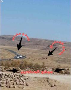 محاصرة موكب صالح