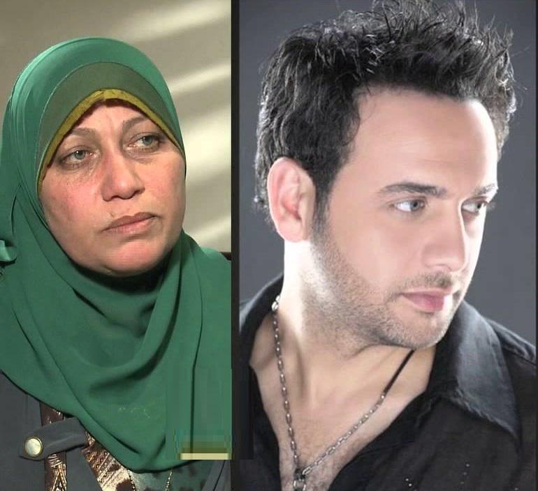 مصطفى قمر وشقيقته