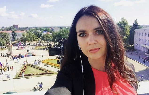 الإعلامية الروسية الشهيرة زانا فيبر