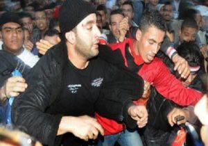 طرد السقا من ميدان التحرير