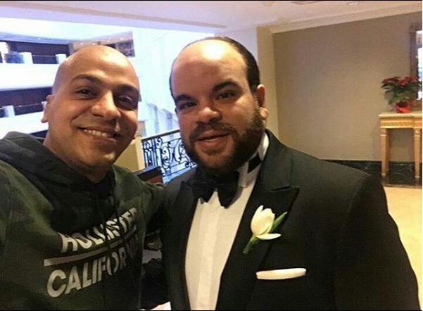 محمد عبد الرحمن ببدلة الزفاف