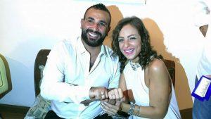 قصة زواج سعد وسمية الخشاب