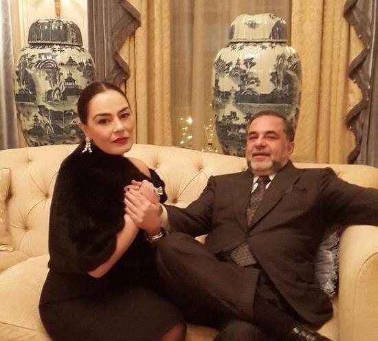 شريهان تظهر لأول مرة رفقة زوجها
