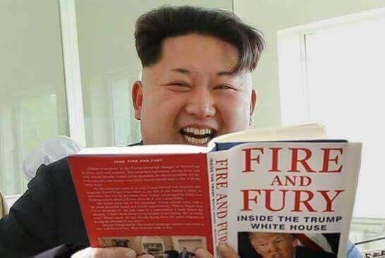 زعيم كوريا الشمالية يسخر من ترامب