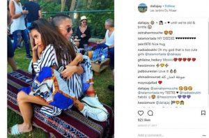 ابنة زعيم لبناني تتزوج صديقتها
