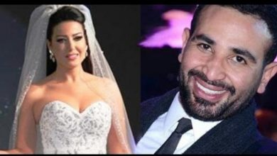 رسالة نارية يوجهها أحمد سعد لزوجته