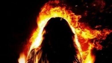 زوج يشعل النيران في شقته للانتقام من الزوجة