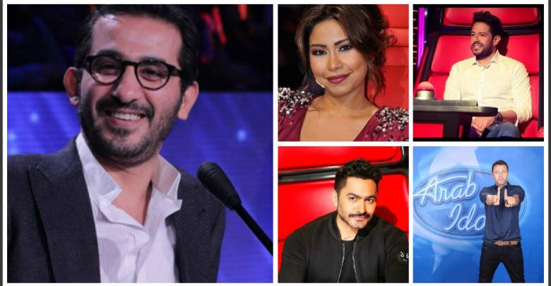 النجوم المصريون - فنانون مصريون في لجان تحكيم برامج المواهب
