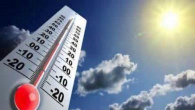 ارتفاع كبير في درجات الحرارة