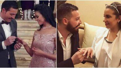 نجلة شريف منير تعلق على خطوبة خطيبها في «أبو العروسة».. والجمهور: «بيتخطف منك»