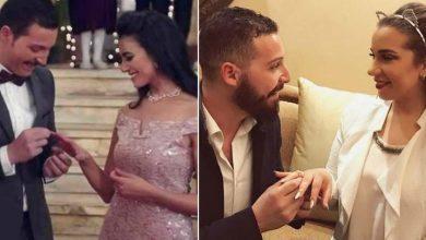 خطيبة محمود حجازي تقوم بزيارة خاصة لـ«زينة» في «أبو العروسة»