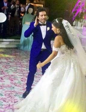 حفلات زفاف المشاهير