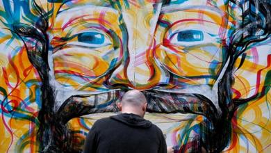 جدارية جديدة لصلاح في ليفربول
