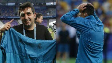 رونالدو يُصيب أحد المصورين