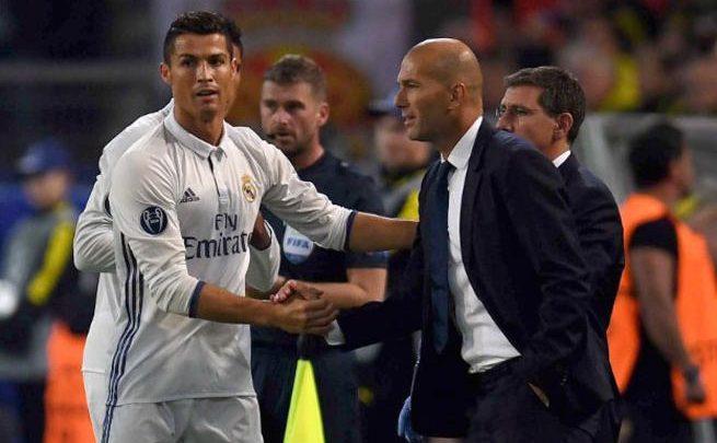 زيدان يوضح موقفه من ضم كريسيتانو رونالدو مرة أخرى لريال مدريد