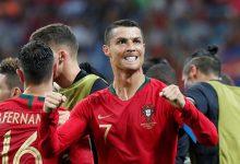 استفزاز رونالدو لجماهير المغرب