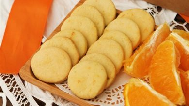 بسكويت العيد بالبرتقال