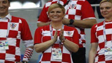 لقطات جديدة ترصد جنون رئيسة كرواتيا