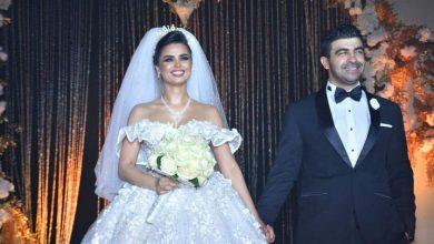 حفل زفاف المذيعة فرح علي ومؤلف نسر الصعيد