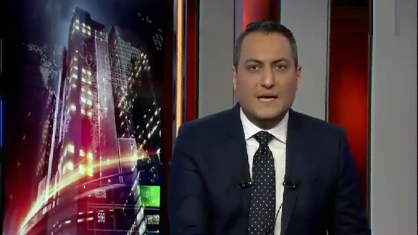 إعلامي بالعربية يتعرض لموقف محرج على الهواء