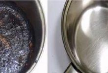 نصائح لتنظيف الأواني المحروقة واعادتها جديدة لامعة
