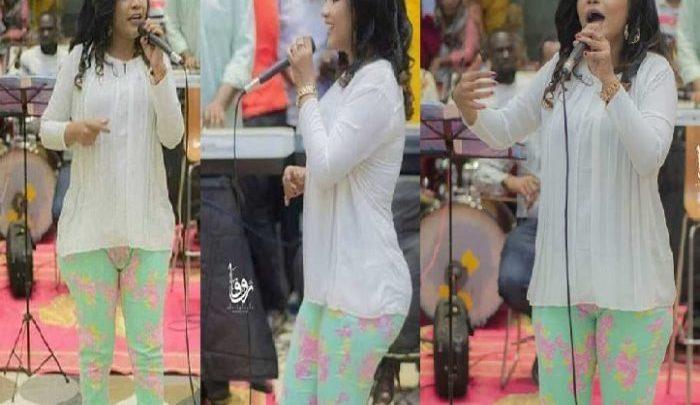 بالصور.. اعتقال المطربة منى مجدي بسبب «ملابسها الفاضحة» في أخر حفلاتها