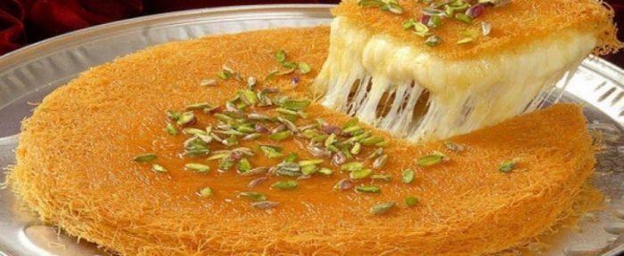 المقادير وخطوات التحضير.. طريقة عمل الكنافة على الفحم بالجبنة