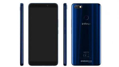 تعرف على مواصفات ومميزات وعيوب وسعر هاتف Infinix Note 5