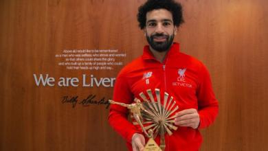 """بعد تتويج صلاح .. ليفربول الأكثر فوزًا بلقب """"الأفضل"""" من BBC"""