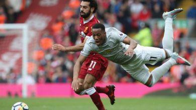 موعد والقناة الناقلة لمباراة ليفربول ومانشستر يونايتد اليوم في الدوري الإنجليزي