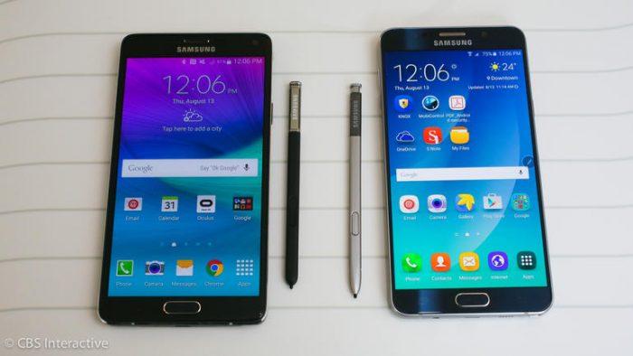 هاتف Samsung Galaxy Note 5