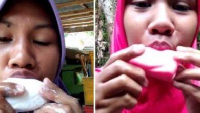 فتاة اندونيسية