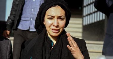 ميريهان حسين تغادر سجن القناطربعد قضاء عقوبتها بقضية كمين الهرم