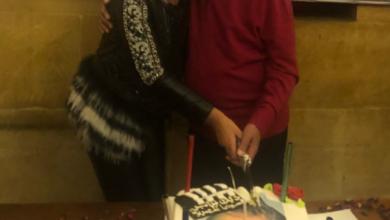 بعد خلعها الحجاب شهيرة ترقص مع الهام شاهين في عيد ميلاد فاروق الفيشاوي