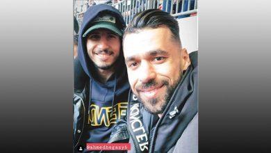 عبد الله السعيد برفقة أحمد حجازي في الدوري الإنجليزي