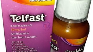 دواعي استعمال دواء تلفاست شراب Telfast