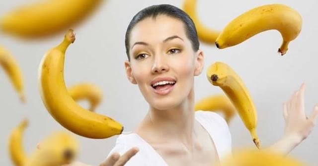 وصفة الموز للشعر