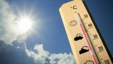تسجيل أعلى درجة حرارة
