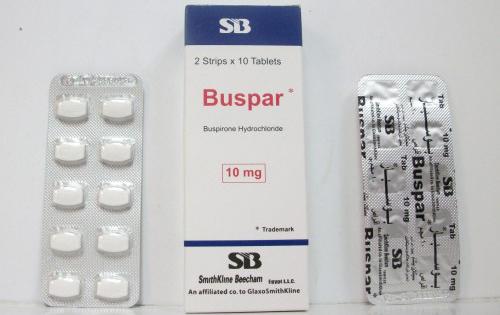 دواعي استعمال دواء بوسبار Buspar