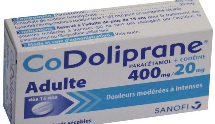 دواعي استعمال دواء كودوليبران Codoliprane