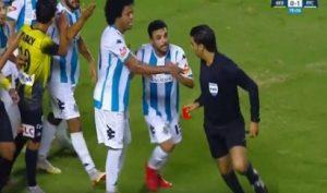 حكم مباراة الأهلي وشبيبة الساورة