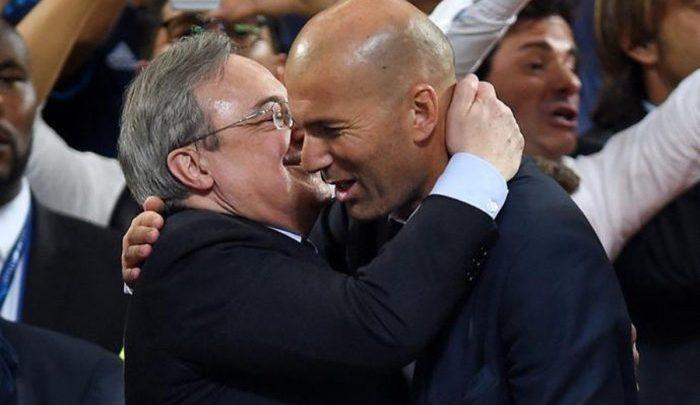 لهذا السبب.. أول صدام بين زيدان ورئيس نادي ريال مدريد