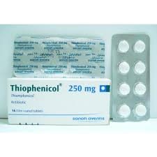دواعي استعمال دواء ثيوفينيكول Thiophenicol