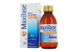 دواعي استعمال دواء ماكسيلاز maxilase