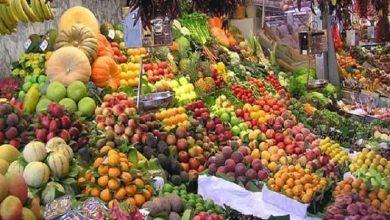 أسعار الخضروات والفاكهة في سوق العبور اليوم 3-4-2019