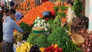 أسعار الخضروات والفاكهة في سوق العبور 12-4-2019