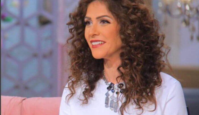 بالصور.. أول لقاء تلفزيوني لبسمة بعد انفصالها من حمزاوي